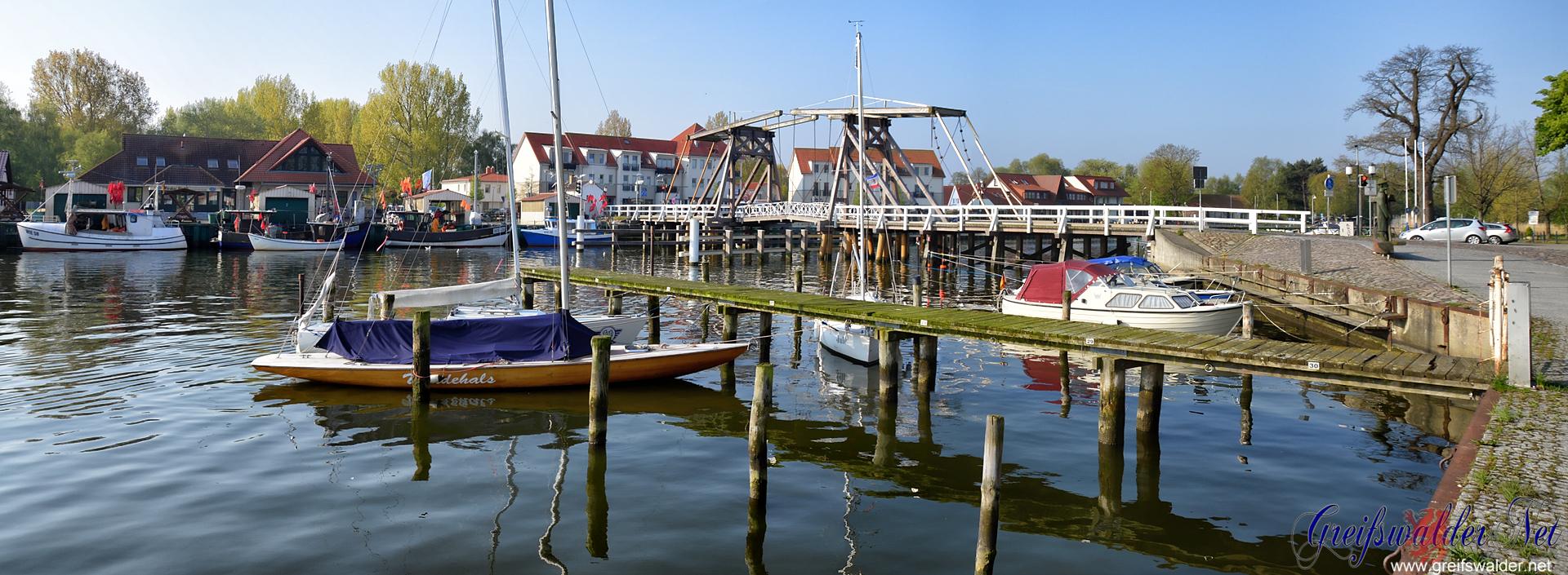 Sonntagmorgen in Greifswald-Wieck