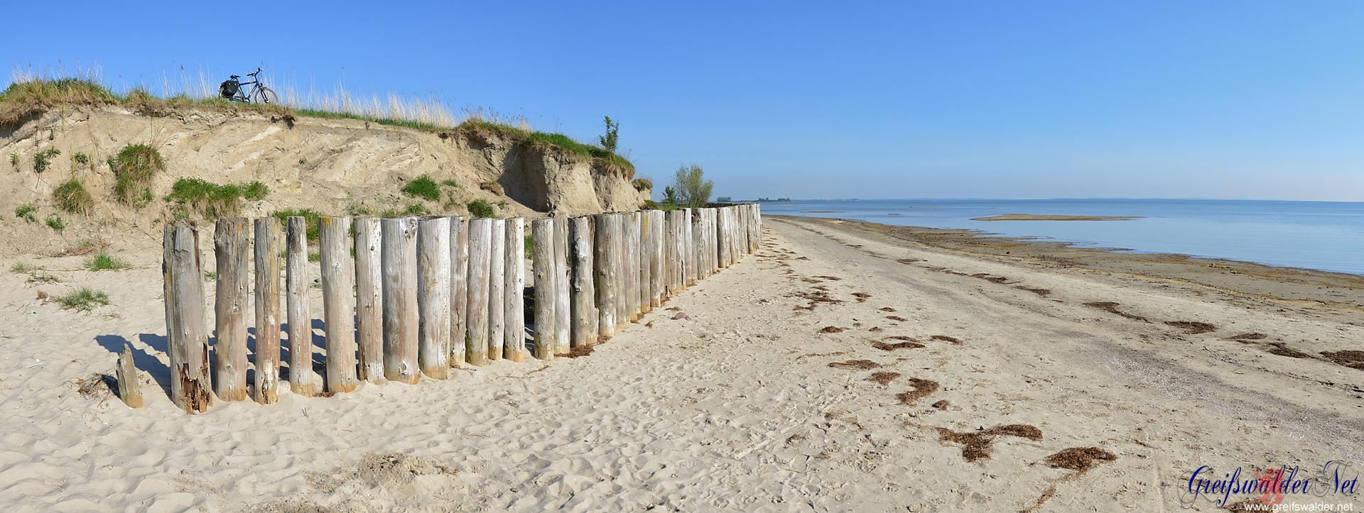 Strand in Wampen