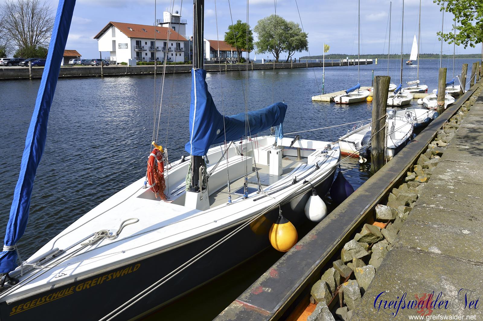 sonniger Nachmittag in Greifswald-Wieck