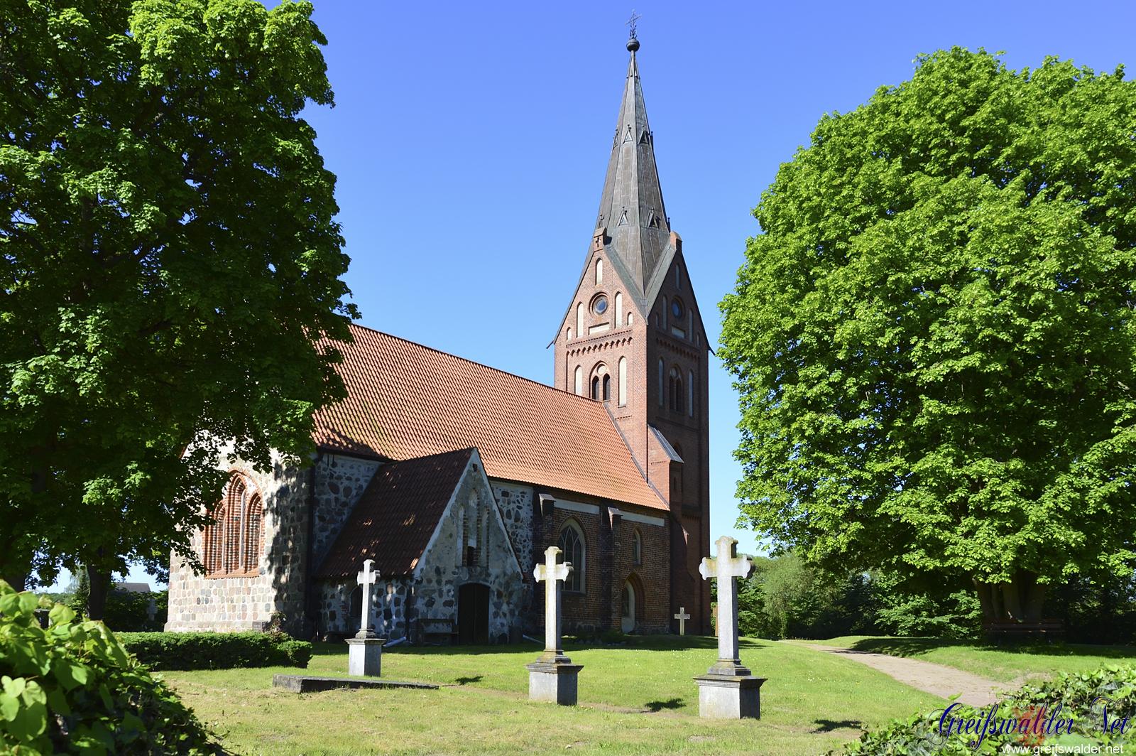 Kirche in Hanshagen