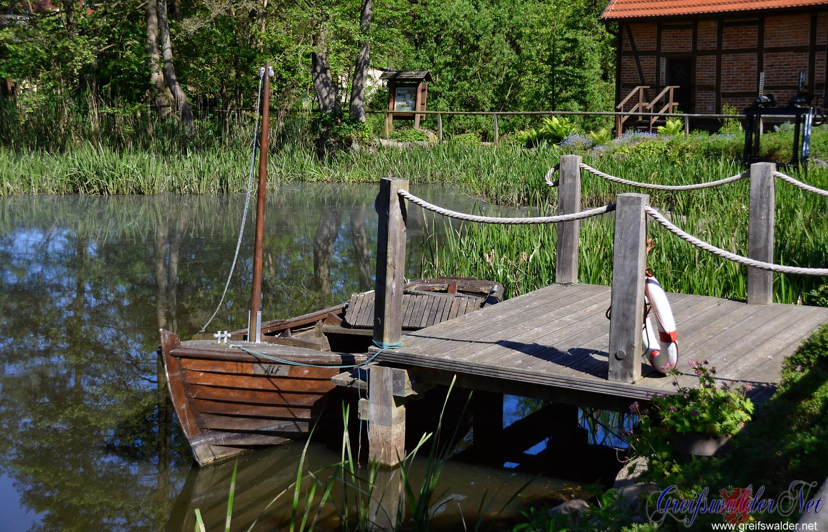 Wassermühle in Hanshagen