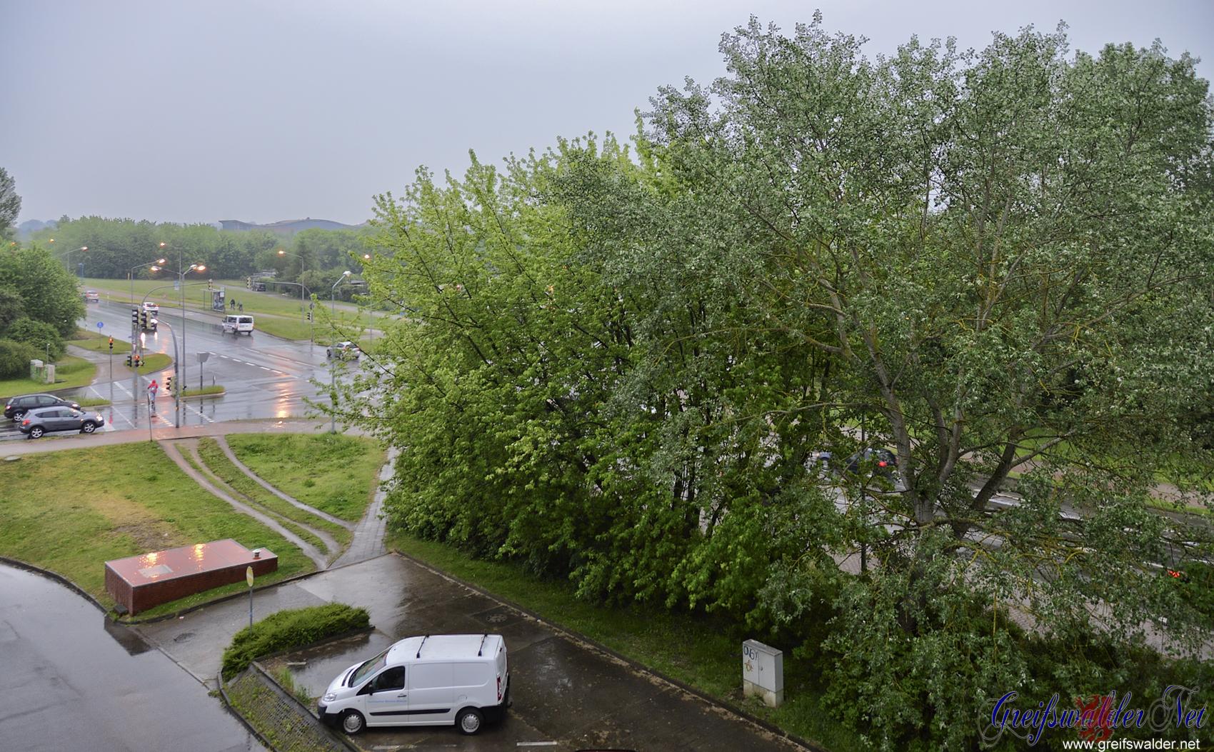 12 Uhr mittags in Greifswald