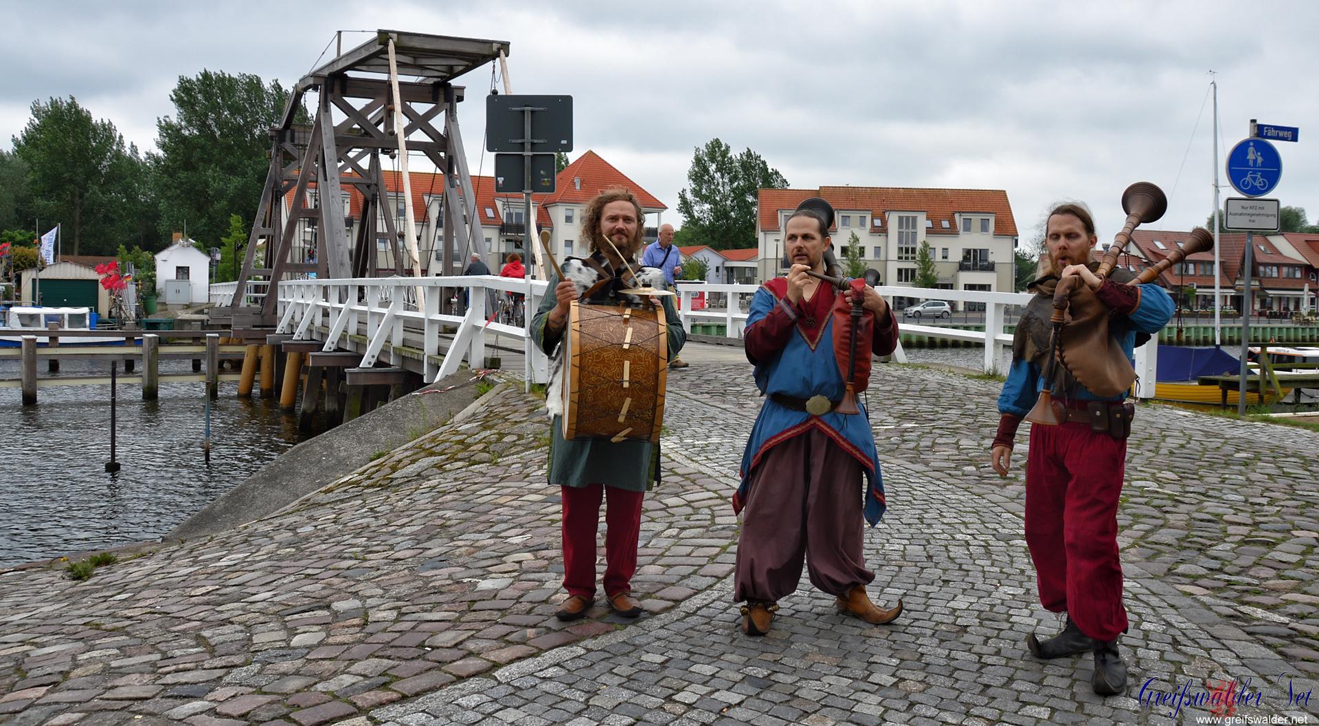 Bugenhagenfest in Greifswald-Wieck