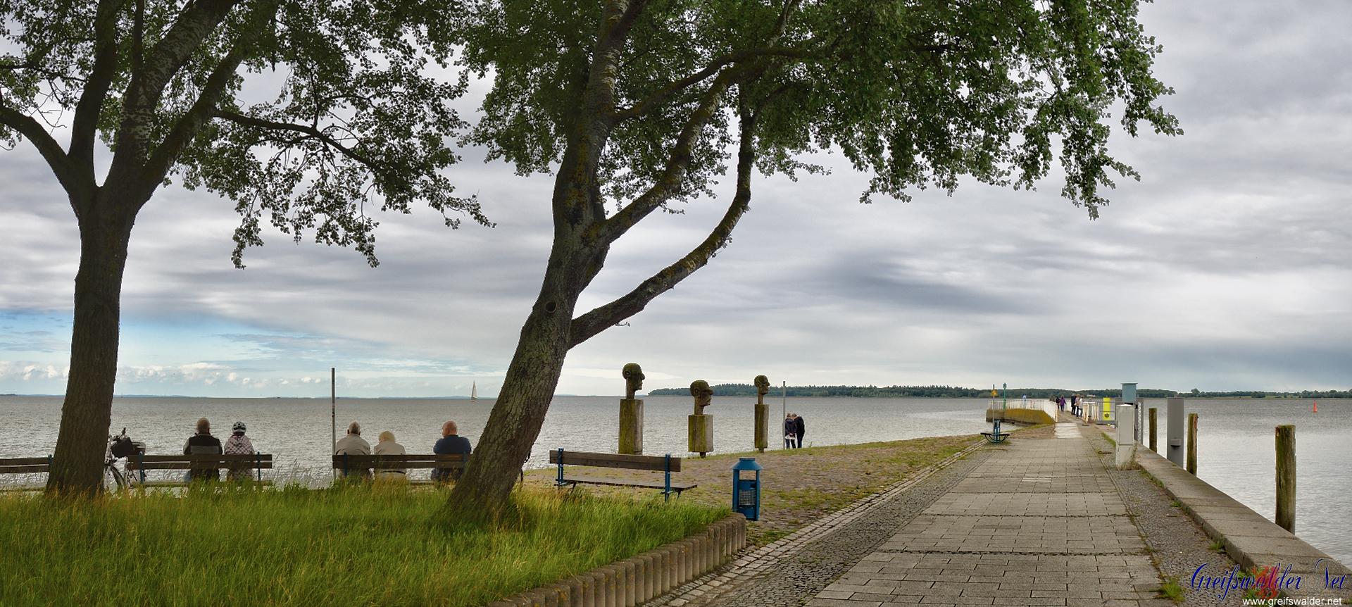 Mole in Greifswald-Wieck
