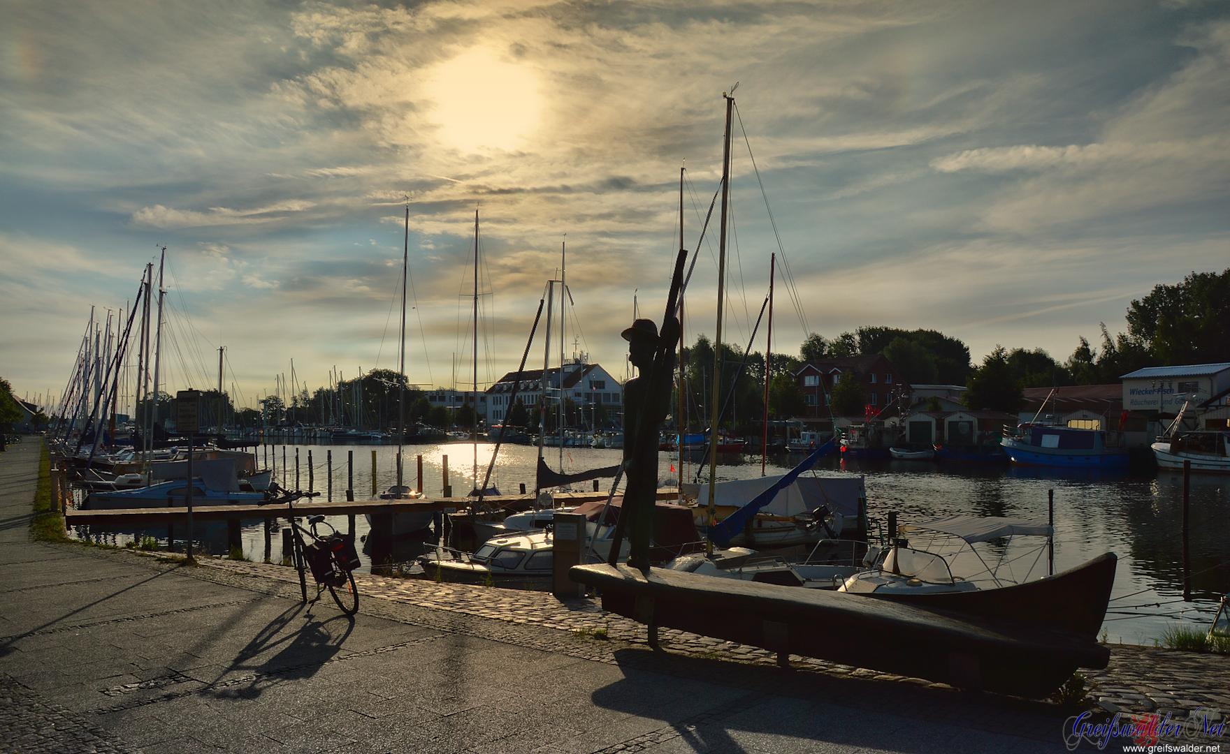 Montagmorgen in Greifswald-Wieck