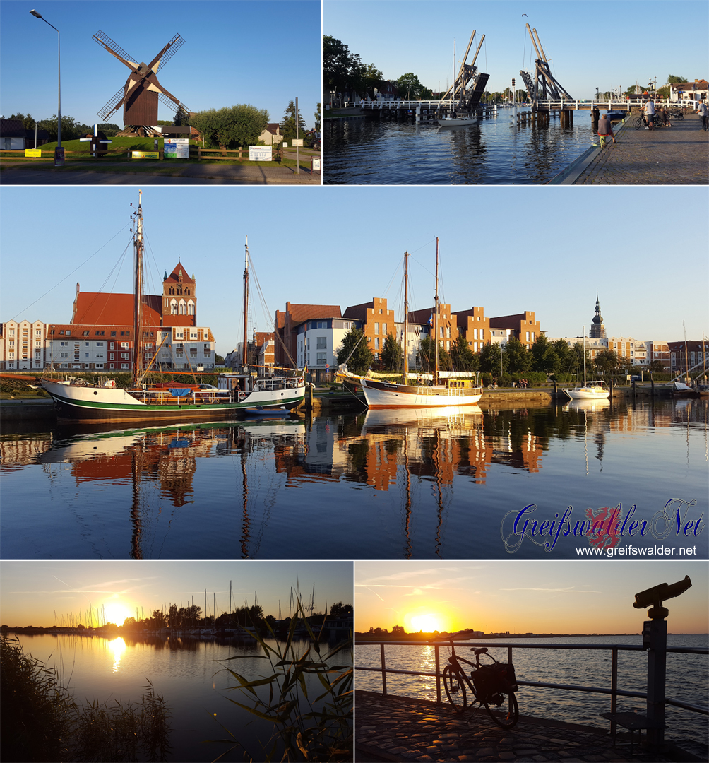 Sommerabend in Greifswald