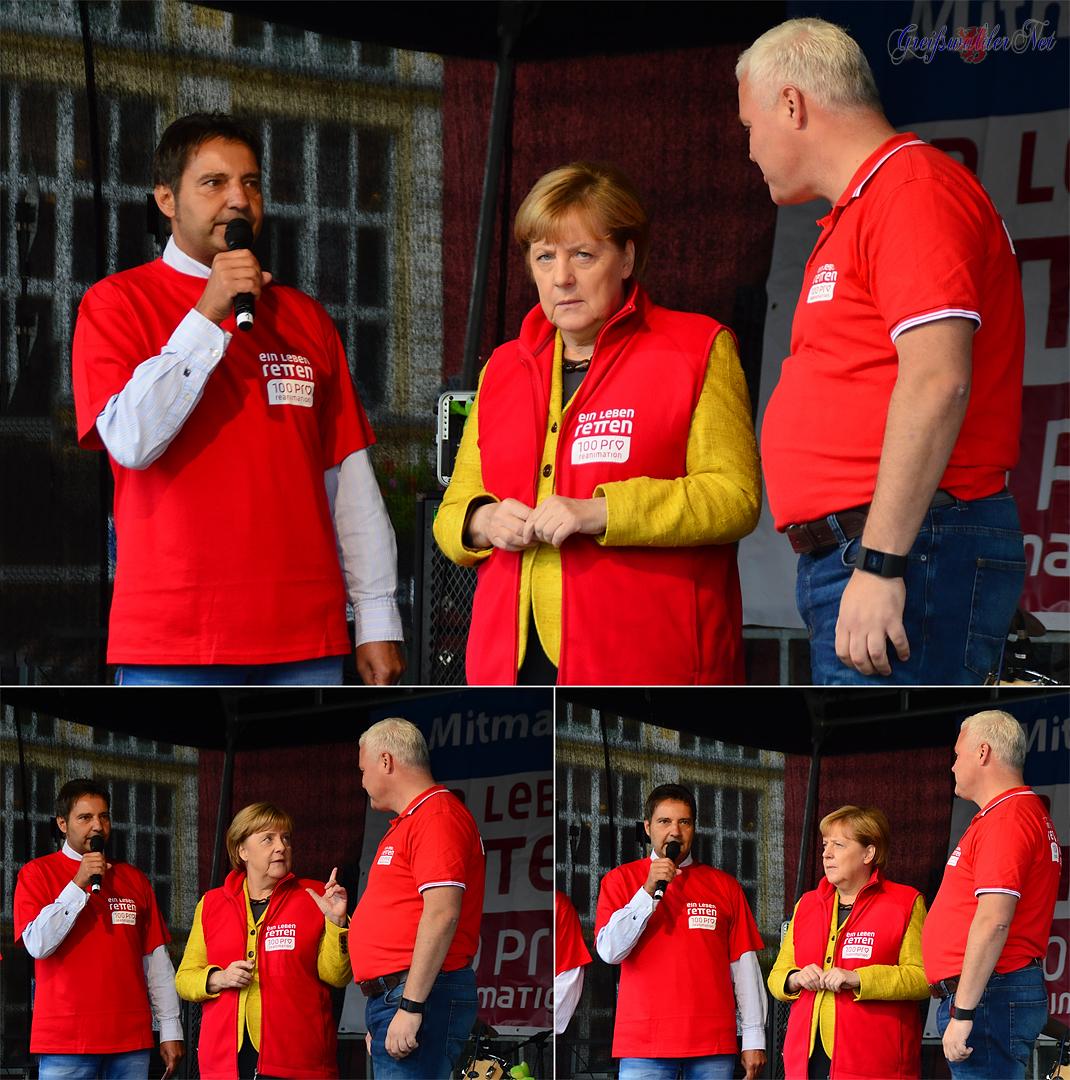 Angela Merkel in Greifswald