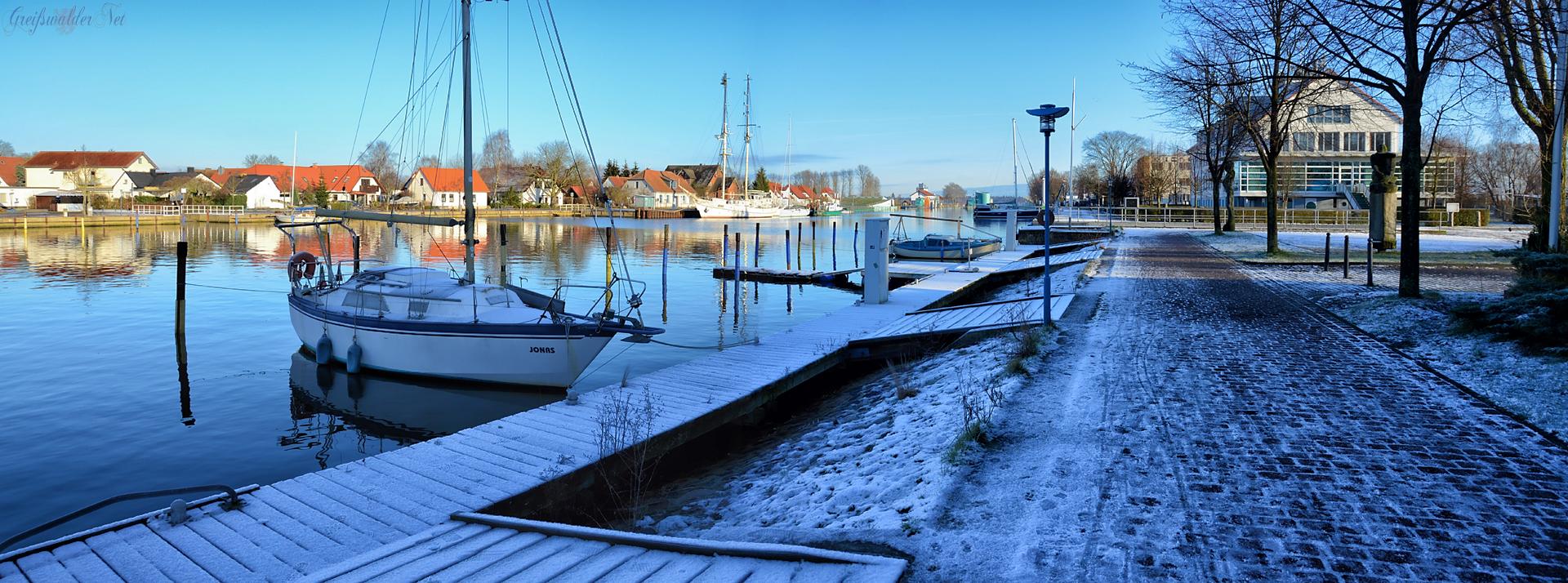 Winterstimmung in Greifswald-Wieck