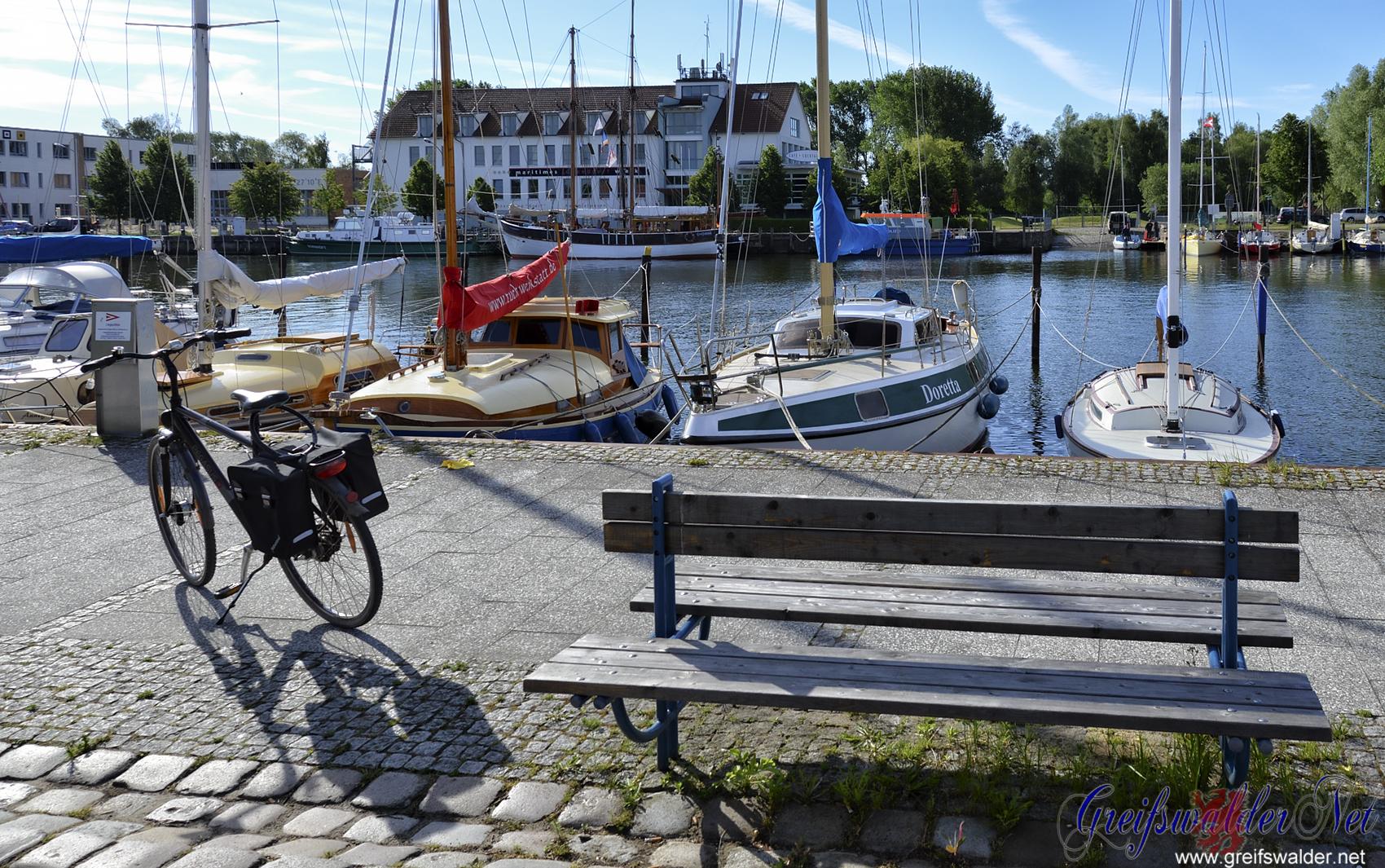 Erholung in Greifswald-Wieck