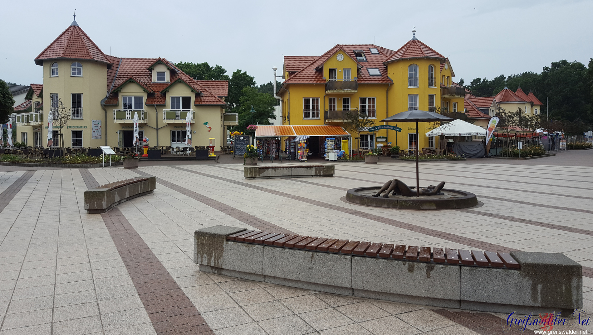 Ostseebad Karlshagen nach dem Regen