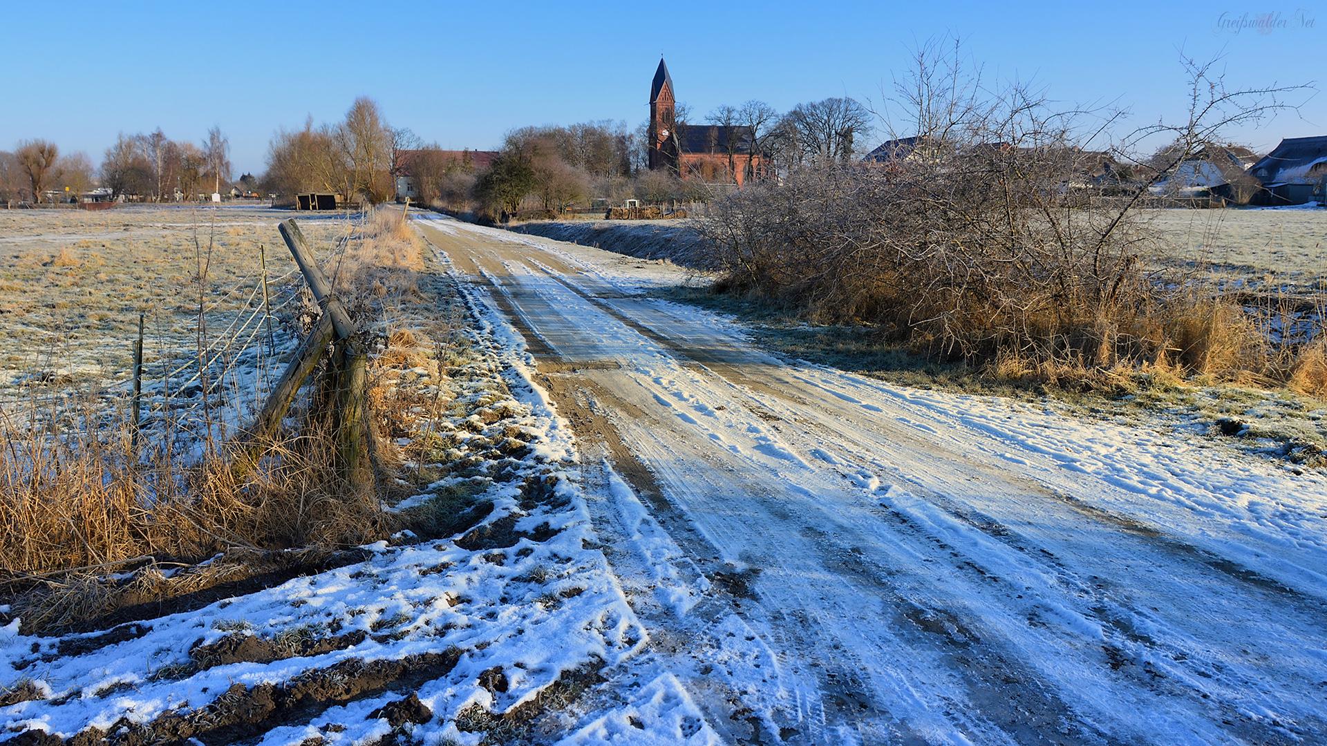 Winter in Greifswald-Wieck