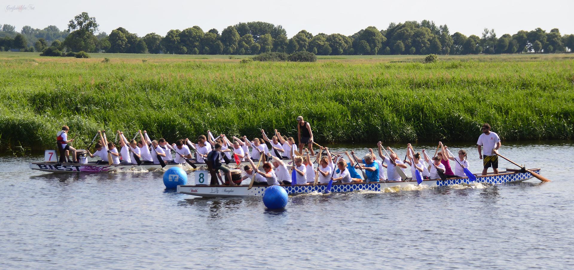 17. Greifswalder Drachenbootfest
