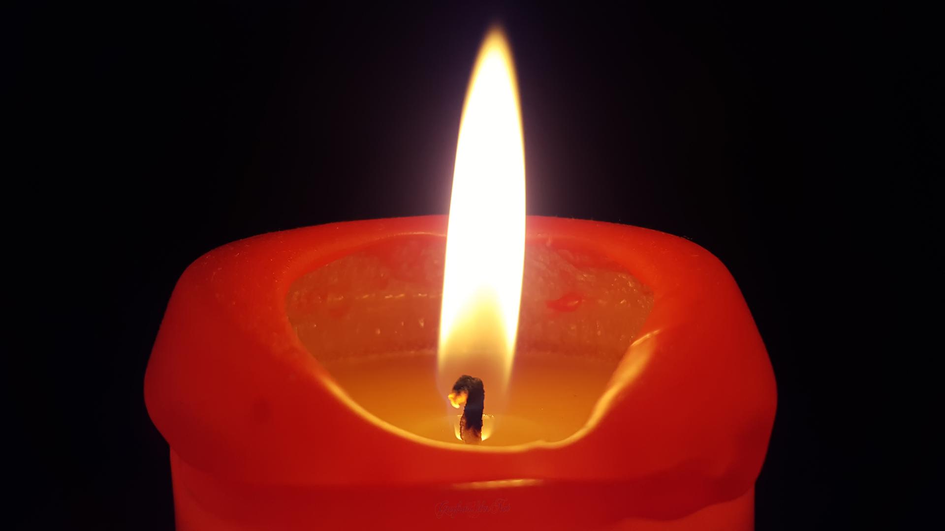 Kerzenschein am Abend