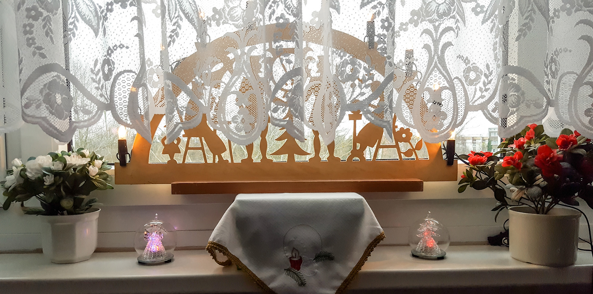 Dekoration zur Adventszeit