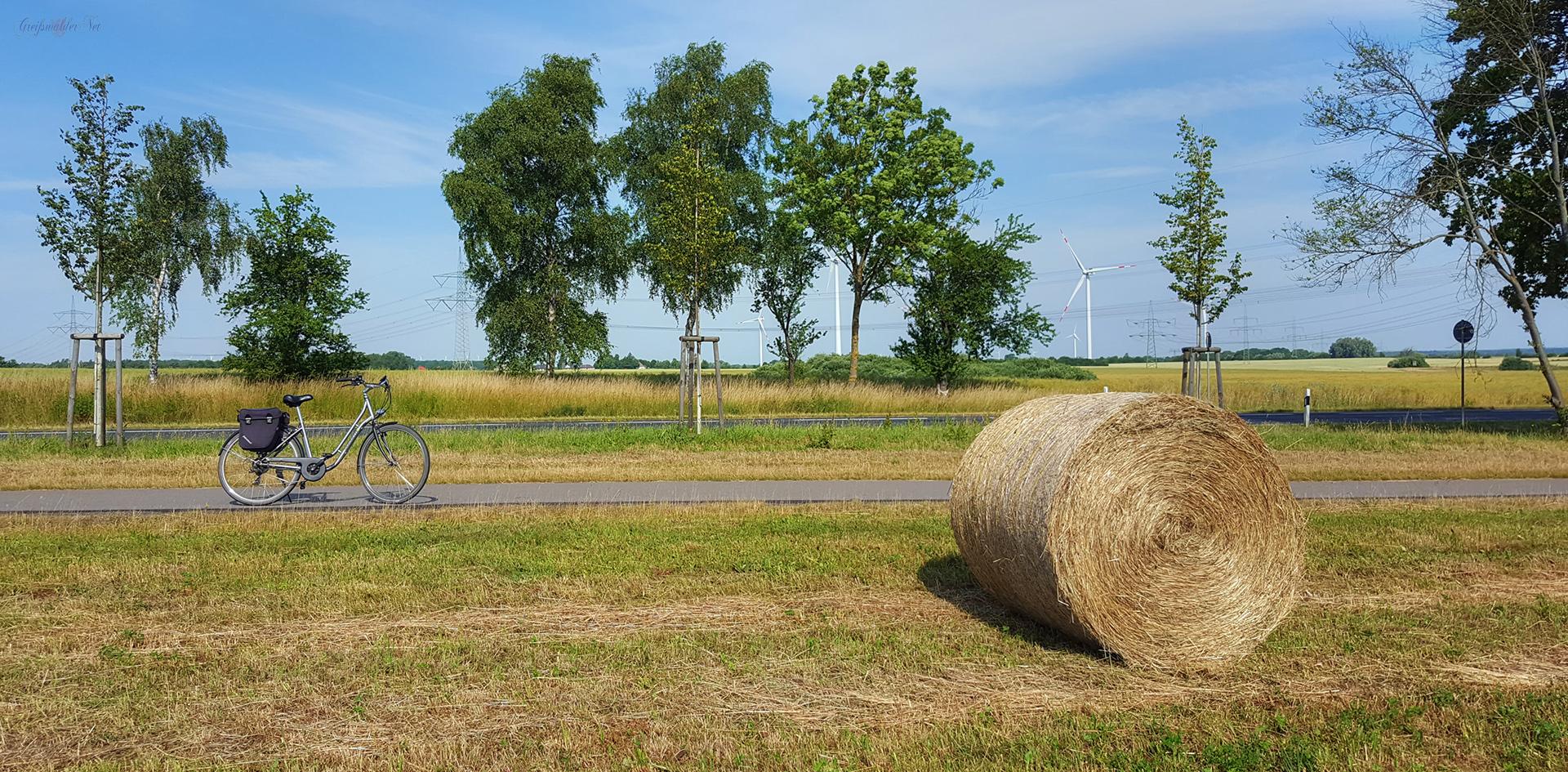 Radtour in der Natur