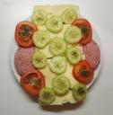 Abendessen - belegte Brote