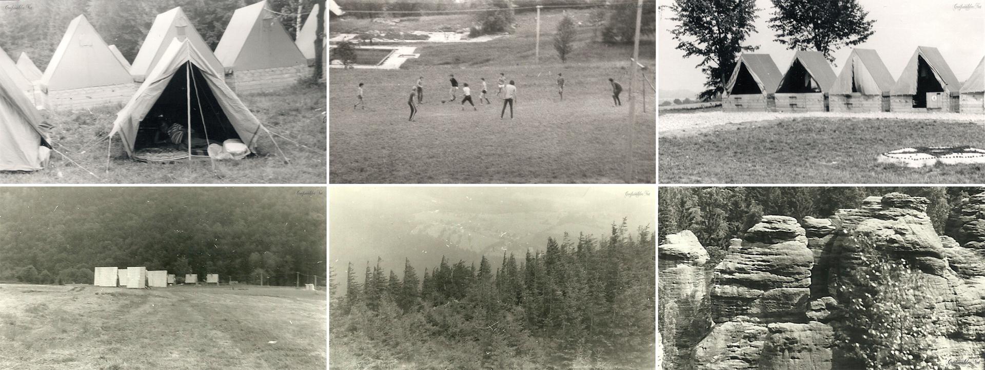 Ferienlager 1975 in der ČSSR