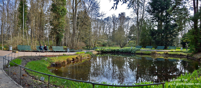 Im Arboretum des Botanischen Gartens