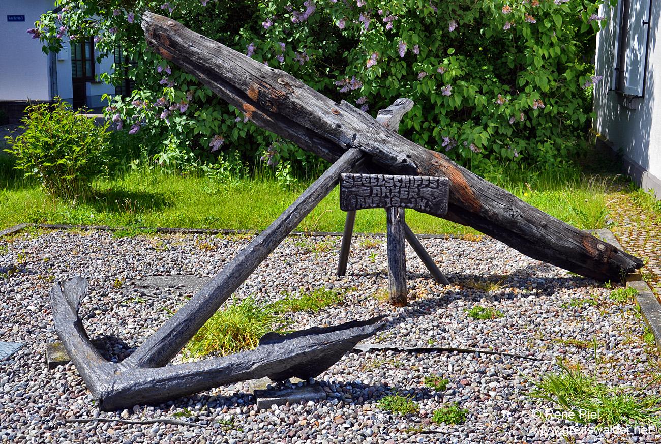 Segelschiffsanker - Anfang 18. Jahrhundert