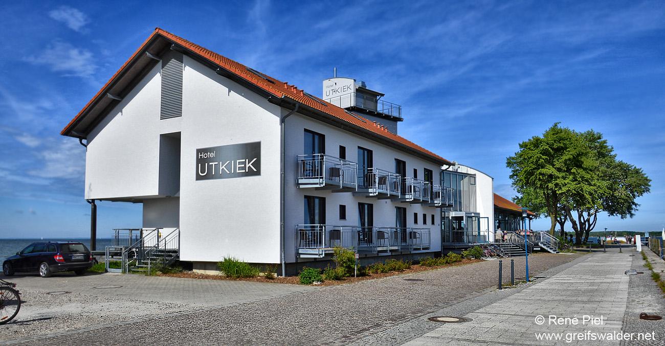Hotel Utkiek in Greifswald-Wieck