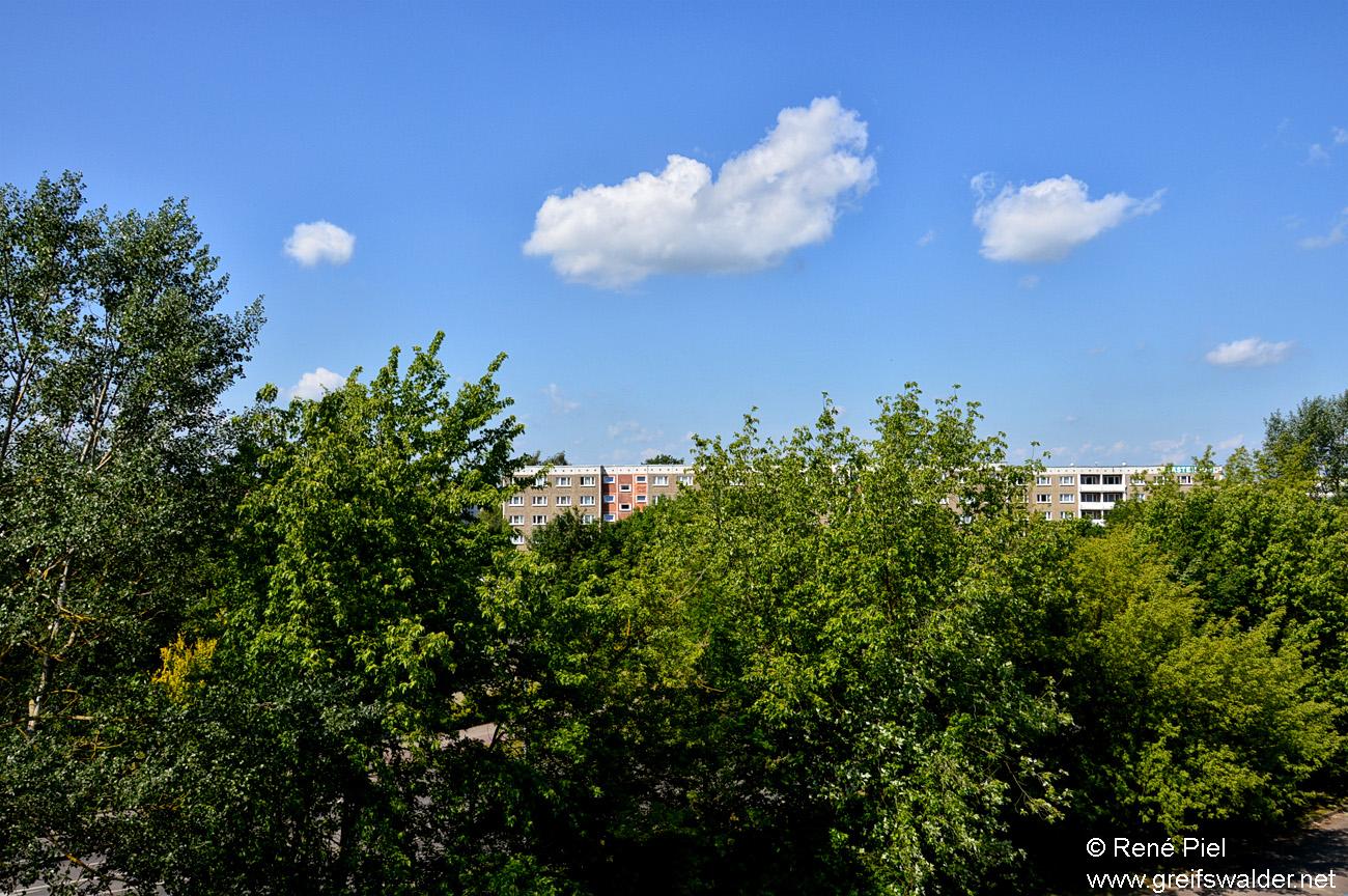 Schönes Wetter in Greifswald