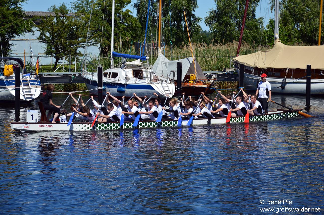 13. Greifswalder Drachenbootfest