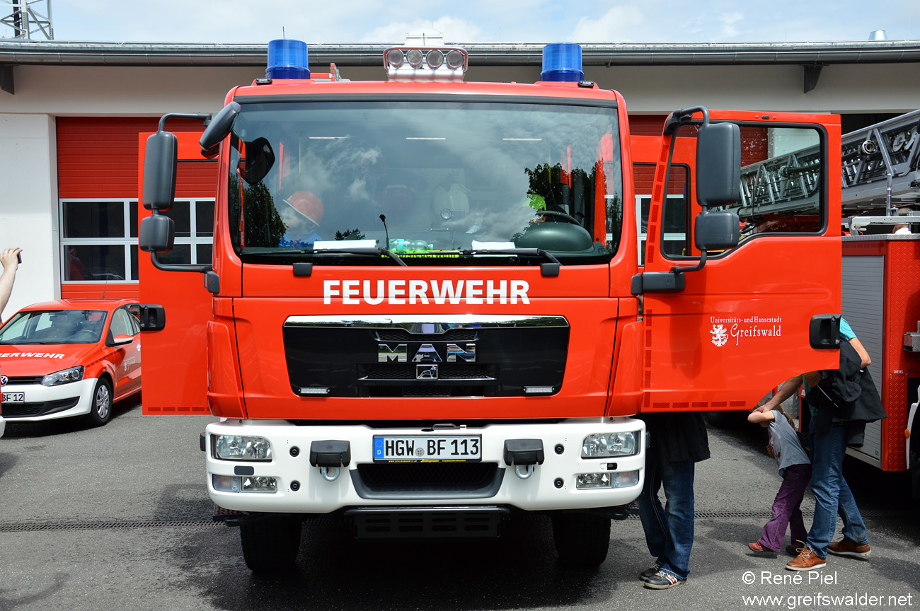 Tag der offenen Tür - Feuerwehr Greifswald