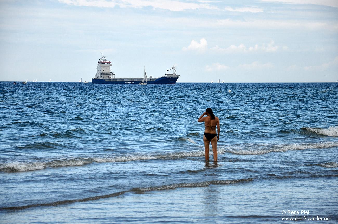 Warnemünde - Am Strand