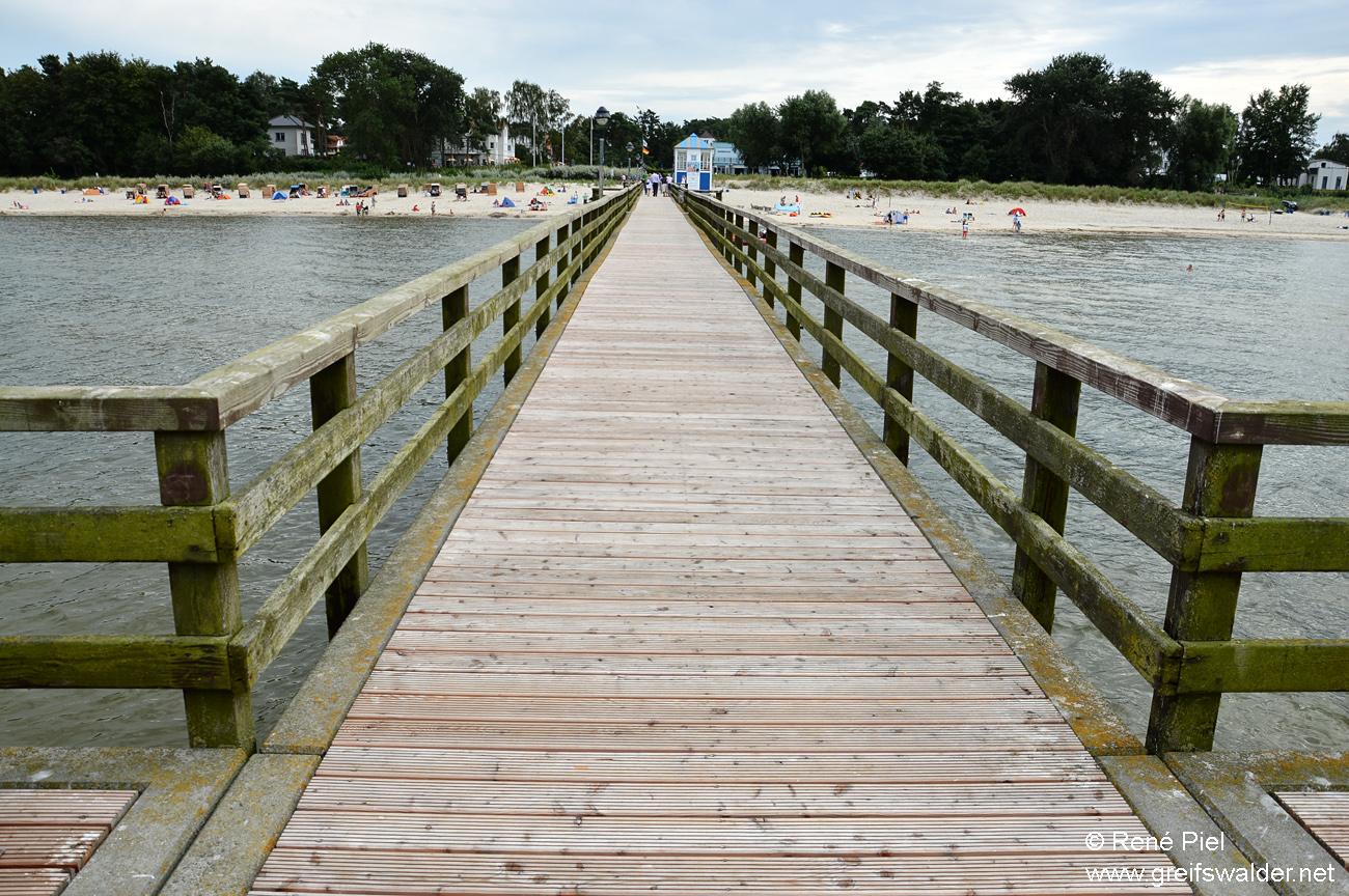 Seebrücke - Seebad Lubmin