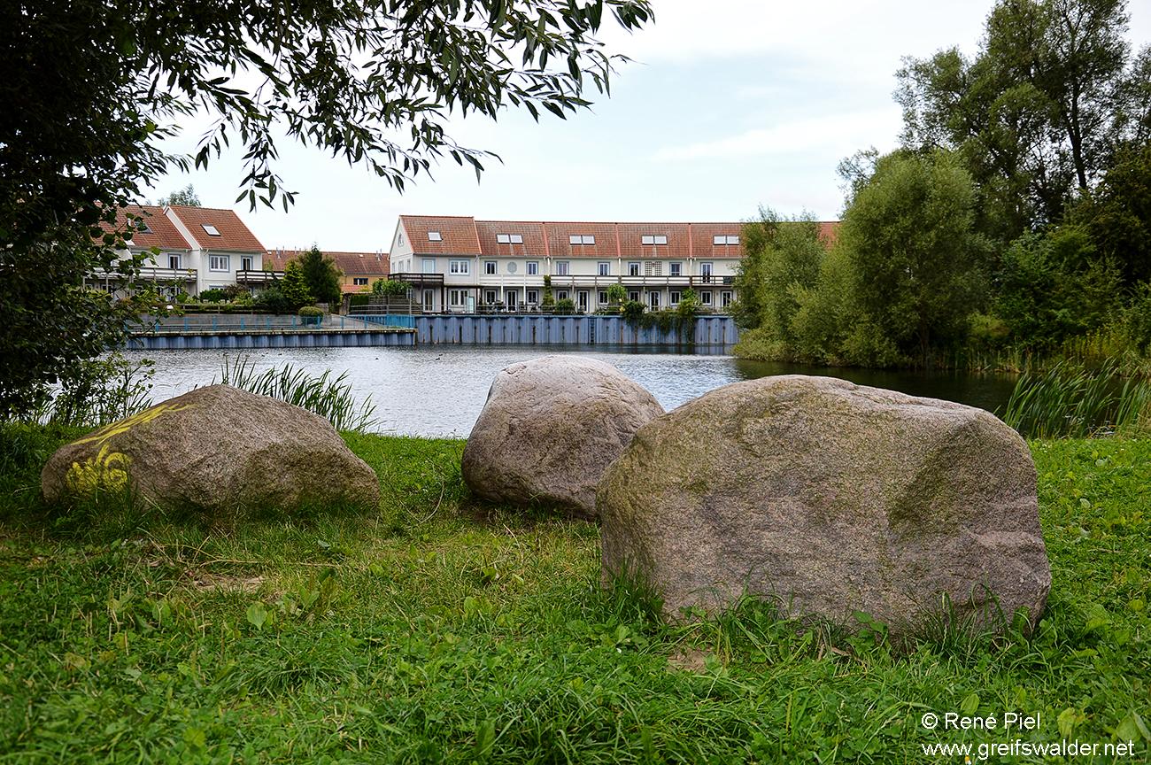 Ostseeviertel Ryckseite - Teich