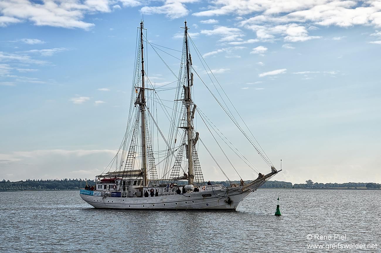 """Segelschulschiff """"Greif"""" - Heimkehr"""