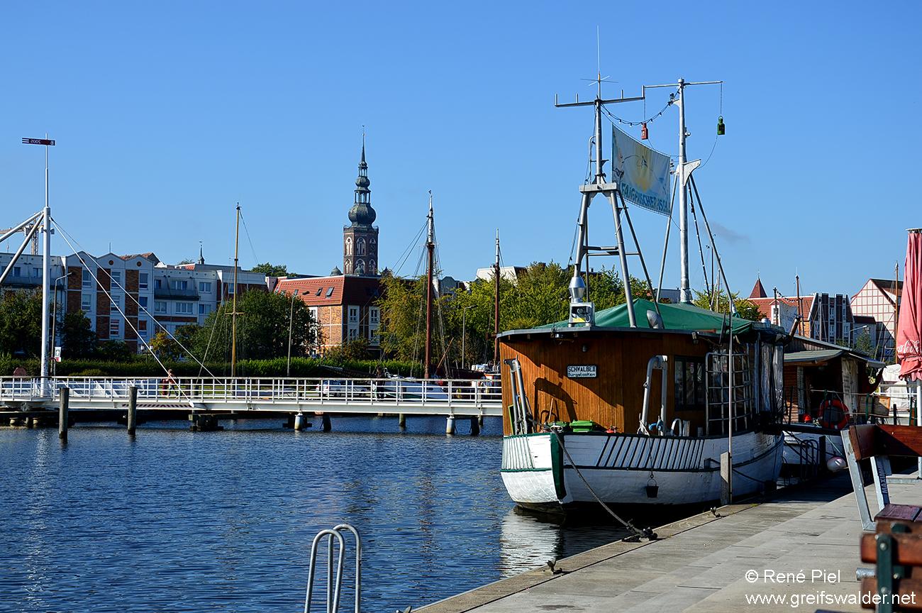Spätsommer am Museumshafen in Greifswald
