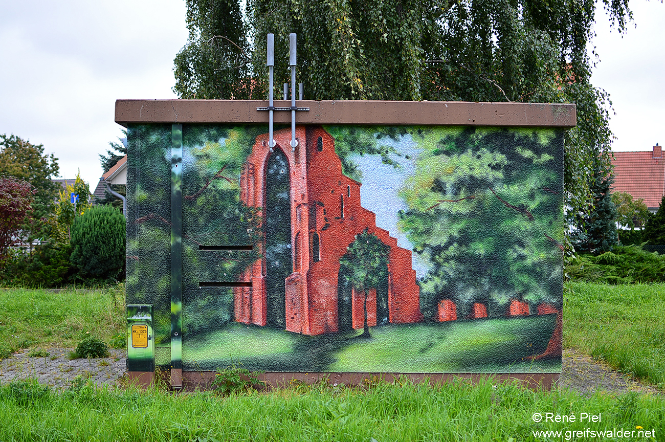 Graffiti in Greifswald-Eldena