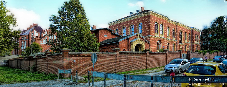 Alte Institutsgebäude in Greifswald