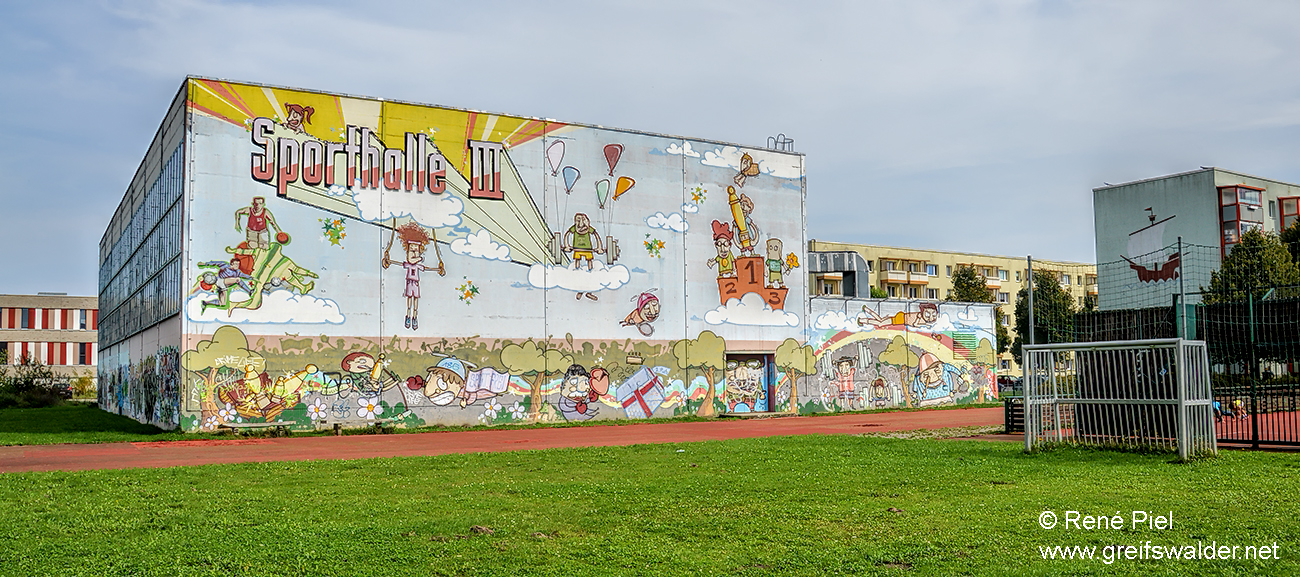 Sporthalle III in Greifswald