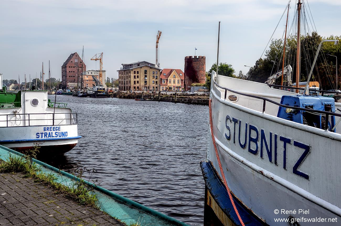 Am Ryck in Greifswald