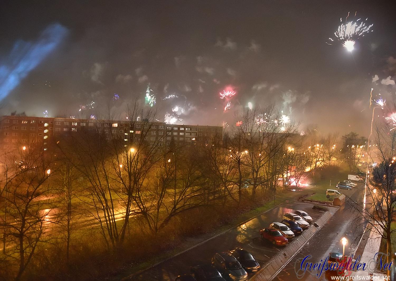 Feuerwerk Silvester 2015 - Neujahr 2016