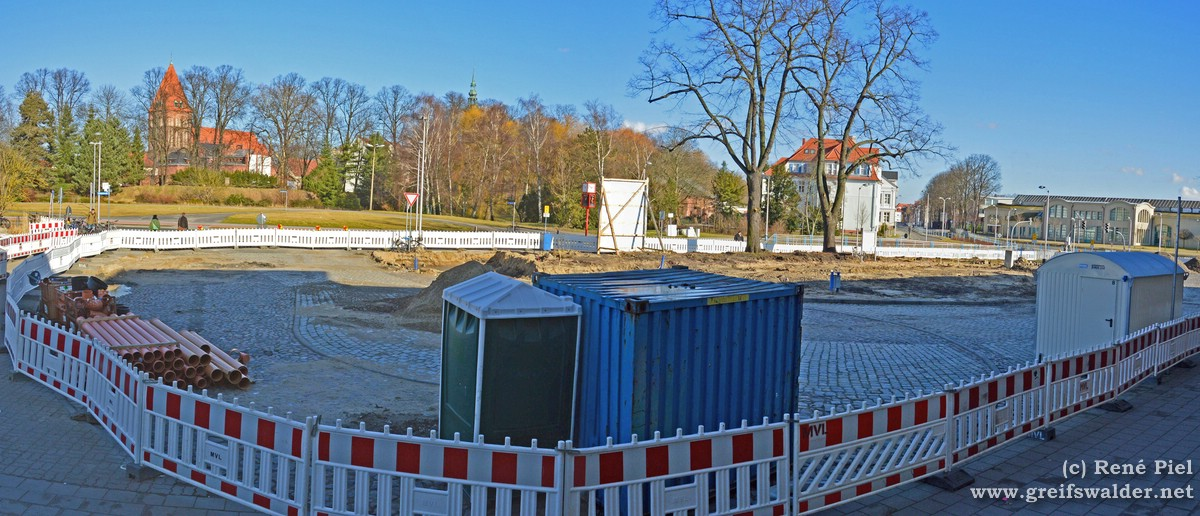 Bahnhofsvorplatz Greifswald