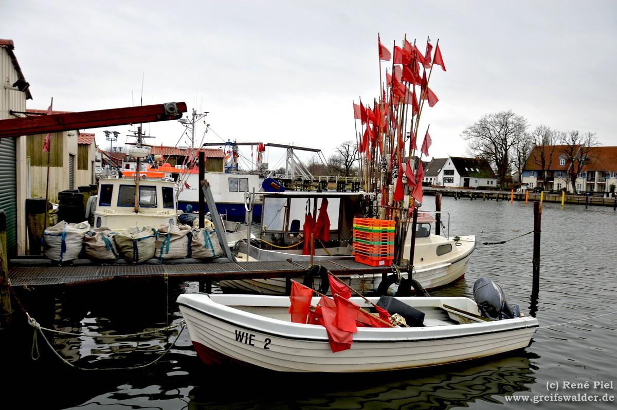 Im Hafen Greifswald