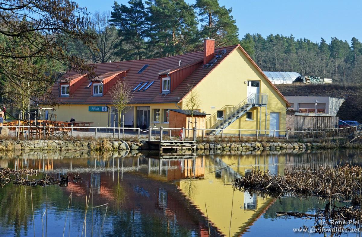 Hofladen bei der Wassermühle in Hanshagen