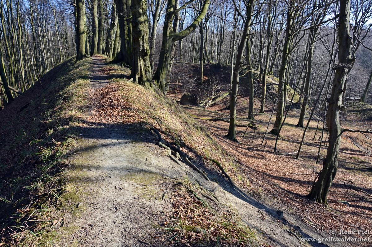Slawischer Ringwall Herthaburg