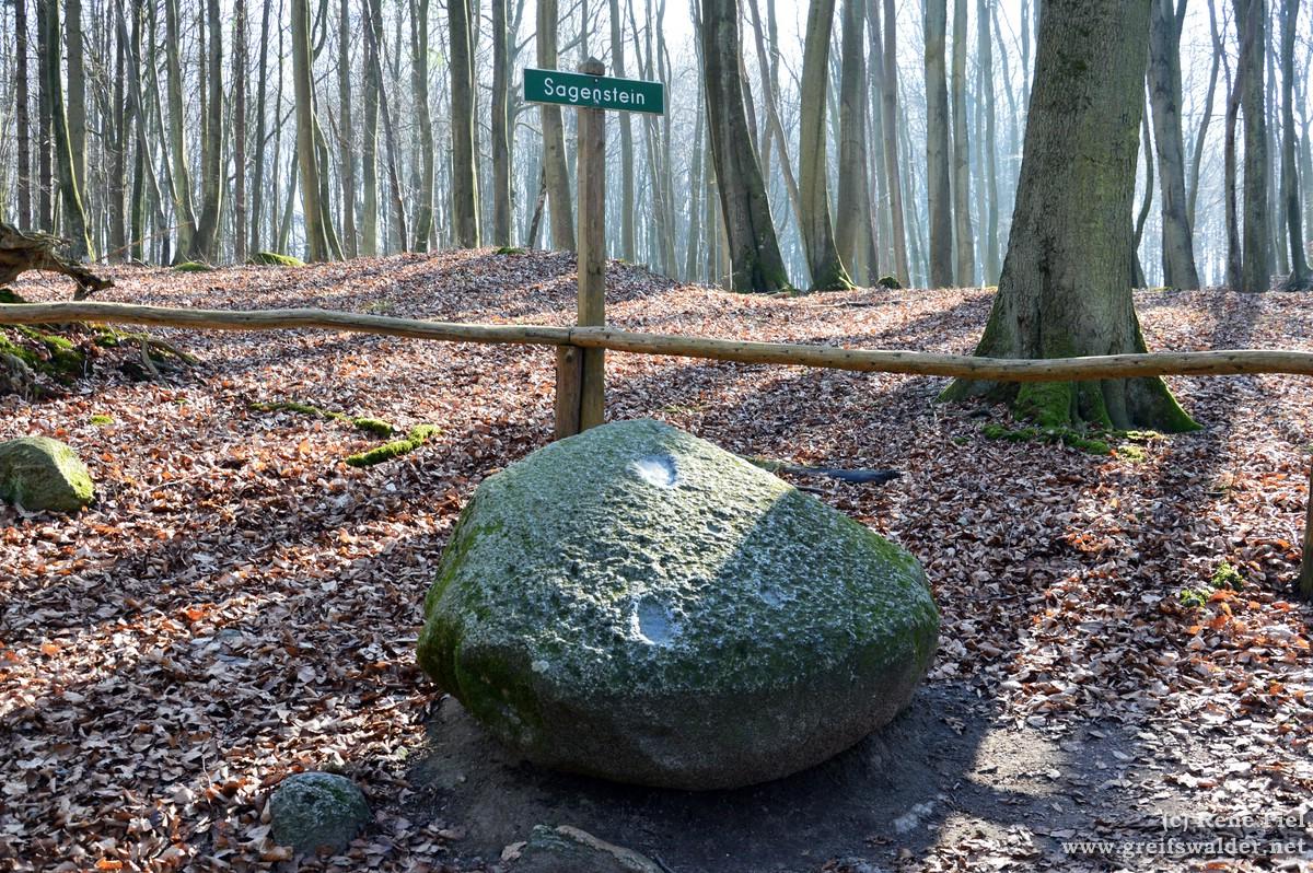 Sagenstein bei der Herthaburg