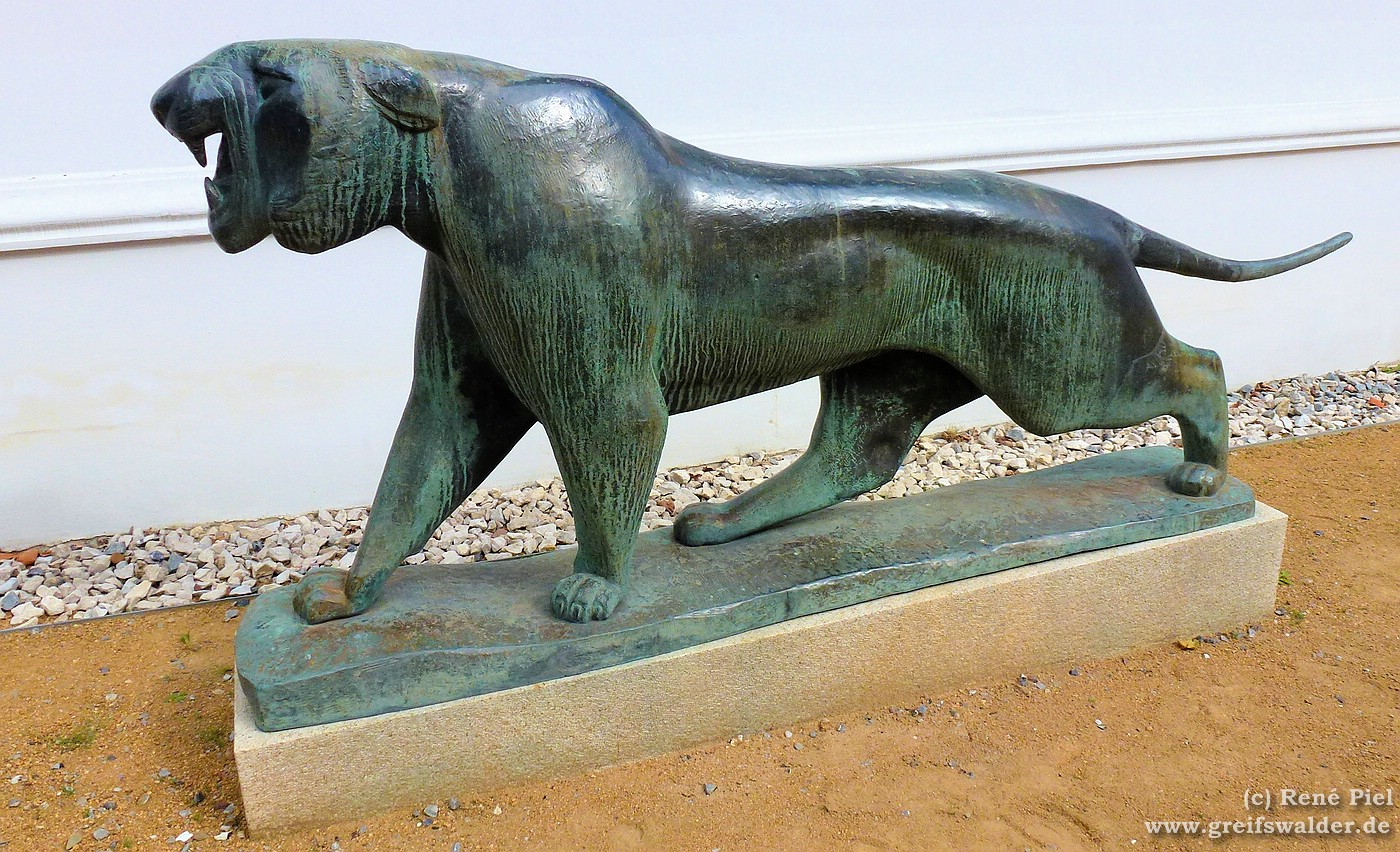 """Pommersches Landesmuseum """"Der Bronzetiger von Philipp Harth"""""""