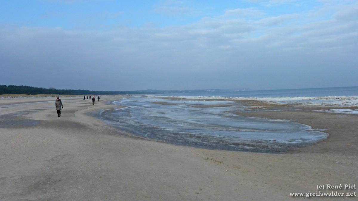 Swinemünde am Strand