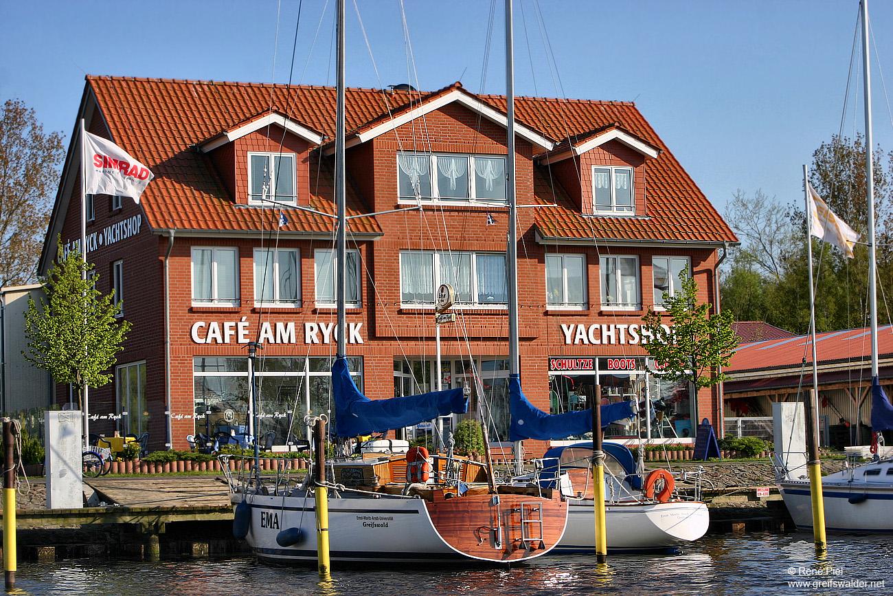 Café am Ryck * Yachtshop - Greifswald