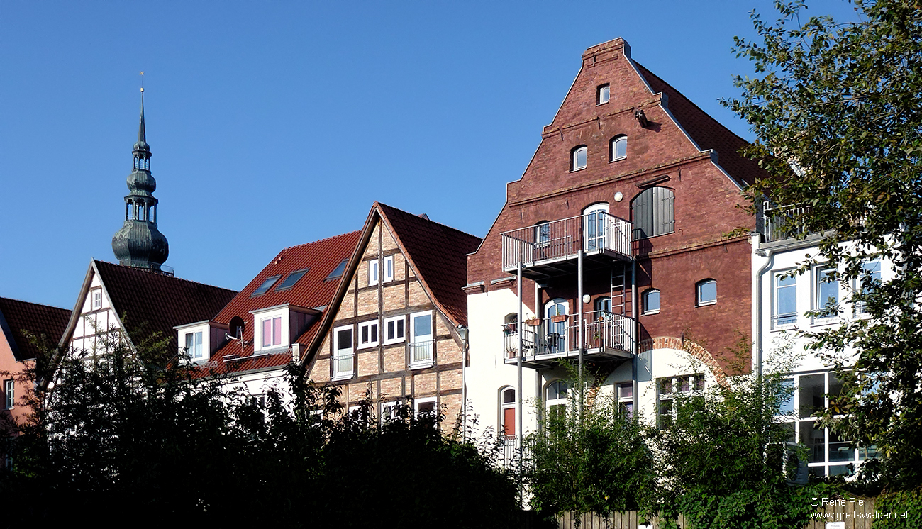 Hinterhof in Greifswald