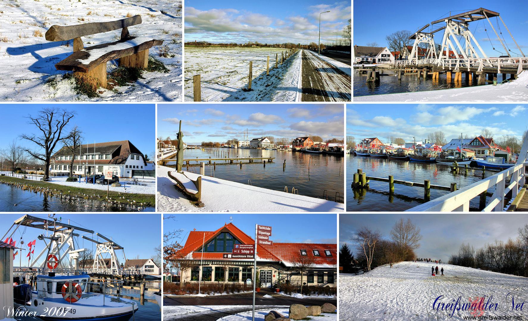 Winter 2007 in Greifswald