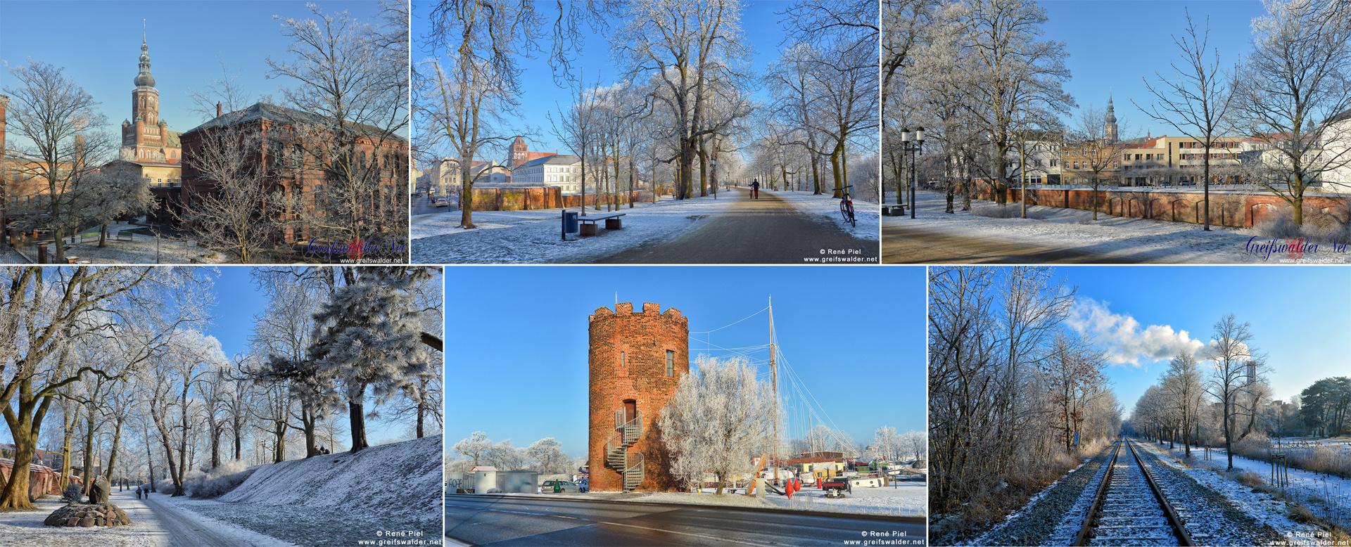 Winter in Greifswald
